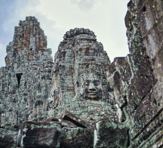 Image of a temple in Cambodia